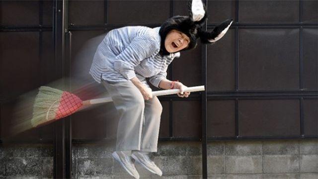 La extravagante bisabuela japonesa que cautiva a miles en las redes