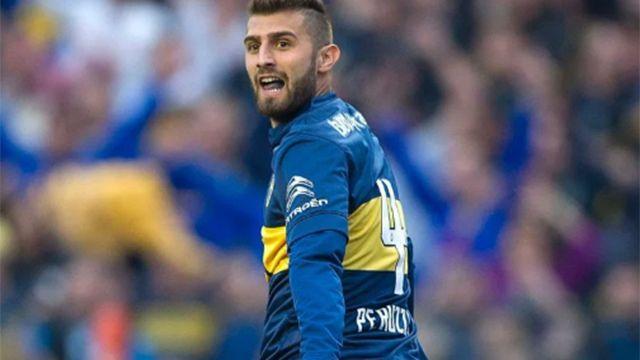 Nacional contrató al lateral Gino Peruzzi, procedente de Boca Juniors