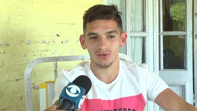 """Lucas Torreira es """"el niño más feliz del mundo"""""""