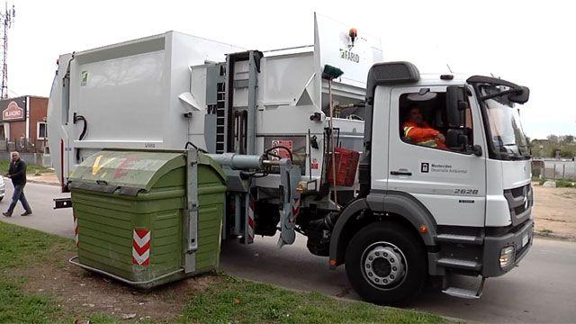 Instalan 2000 nuevos contenedores y en mayo llegan 10 camiones recolectores