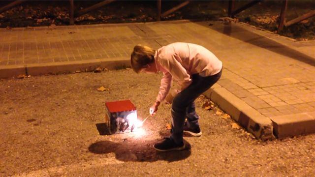 Cantidad de niños quemados con pirotecnia se multiplicó por cinco