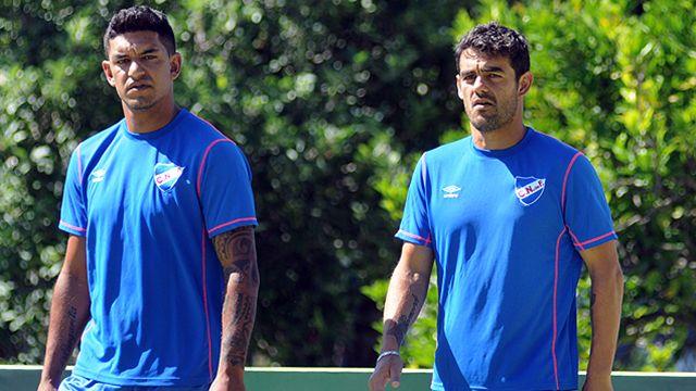 Aguiar se puso la camiseta de Nacional y comenzó a entrenar con el equipo
