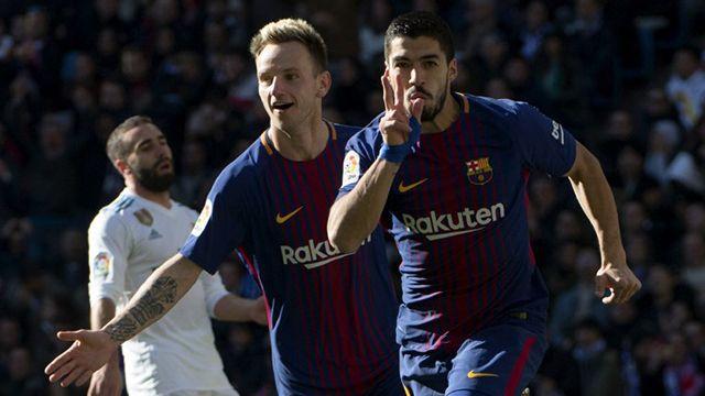 Con goles de Suárez, Messi y Vidal, Barcelona le ganó 3-0 al Real Madrid