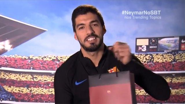 """El particular regalo de """"amigo invisible"""" que le hizo Suárez a Coutinho"""