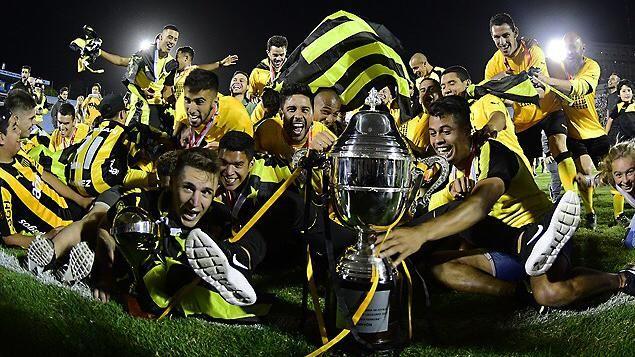 Peñarol se coronó campeón del Torneo Uruguayo en el Centenario