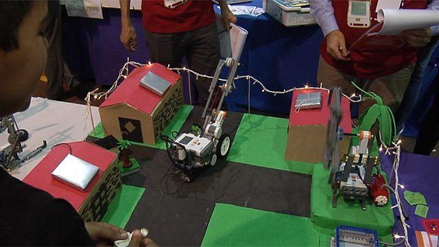 1.500 niños y jóvenes participan de la 4ª Olímpiada de Robótica en el LATU