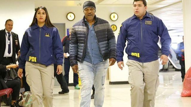 Tyson no pudo ir a Chile y Argentina por tener antecedentes penales