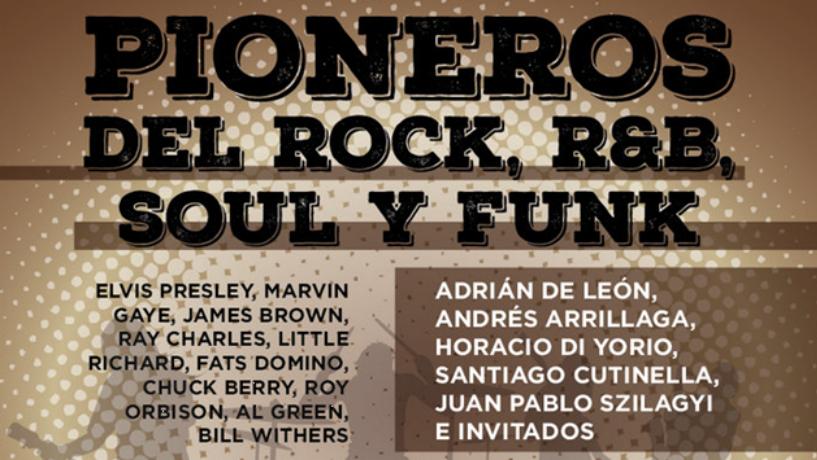 Pioneros del Rock'n Roll, R&B, Soul y Funk