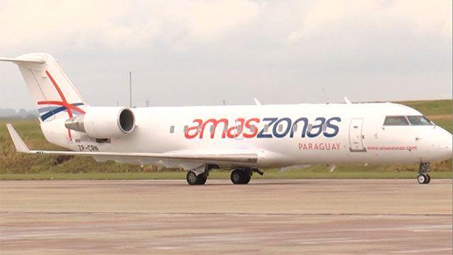 Trabajador perdió las dos piernas al explotar el neumático de un avión