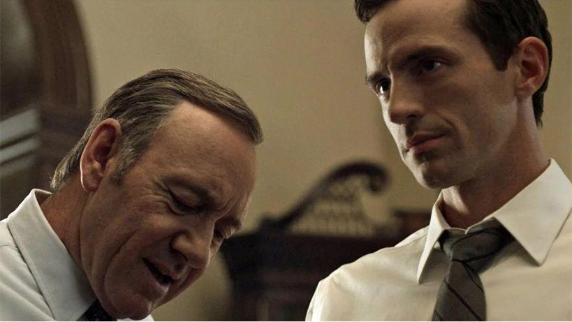 Kevin Spacey cambió el guión de una escena de House of Cards para besar a otro actor