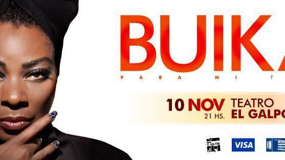 Buika se presenta este viernes en el Teatro El Galpón