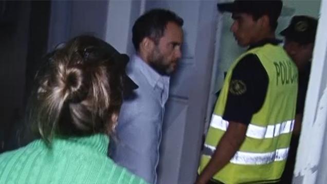 Francisco Sanabria declaró ante juzgado de Crimen Organizado