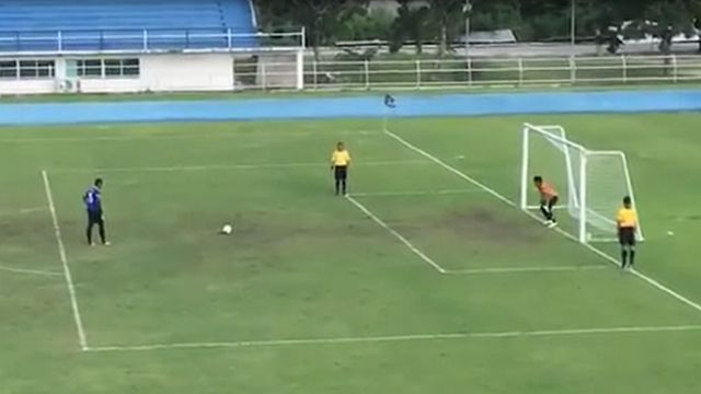 VIDEO: No festejes antes de tiempo: el increíble penal en la liga de Asia