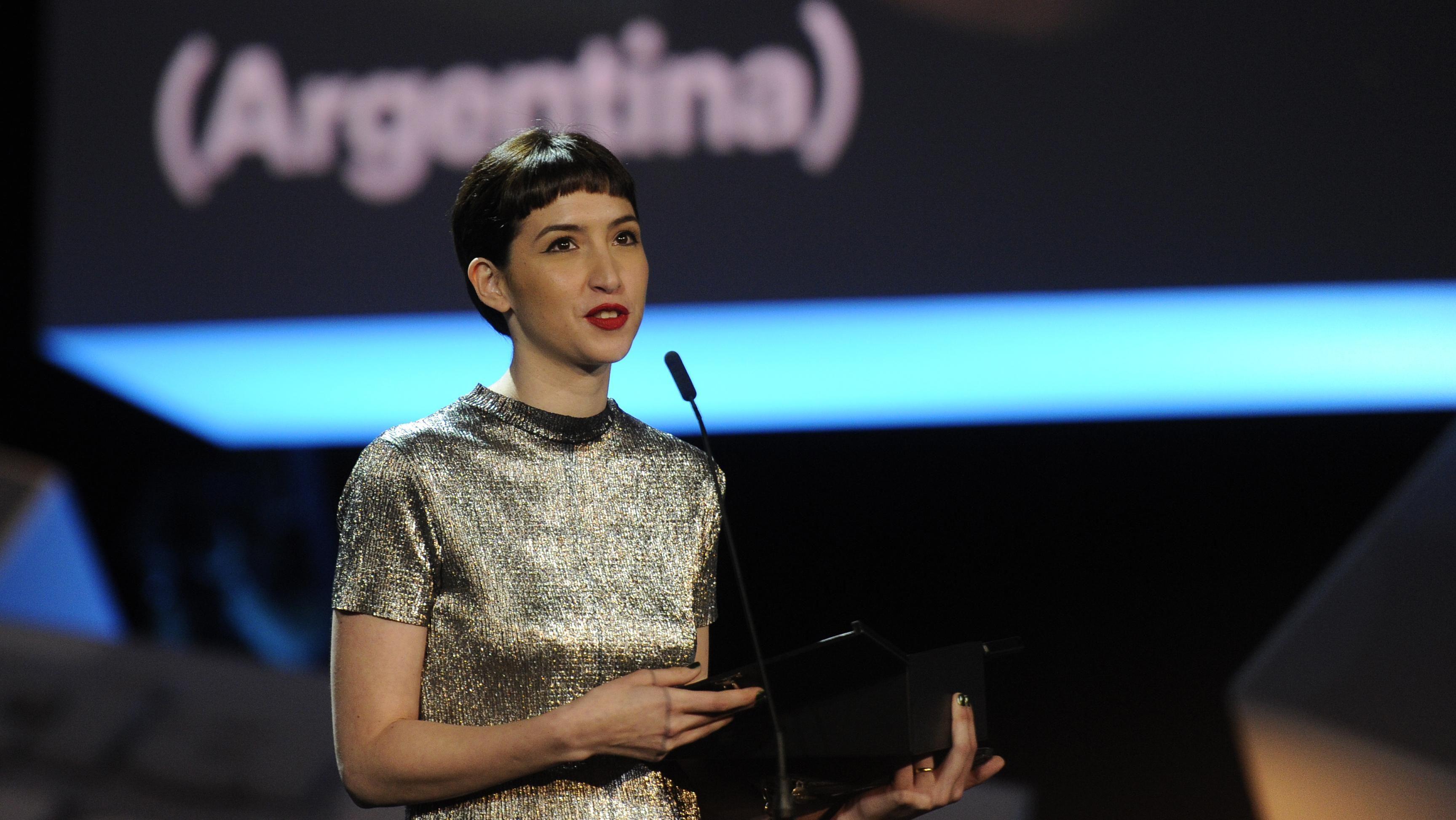 Argentina Sofía Gala premiada en el Festival de Cine de San Sebastián