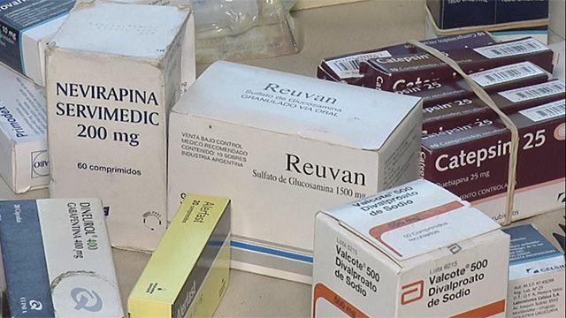 Incautaron 232 cajas de medicamentos en ferias de La Unión