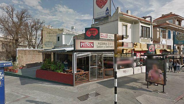 Asalto a mano armada a pizzería de Bulevar España y Obligado