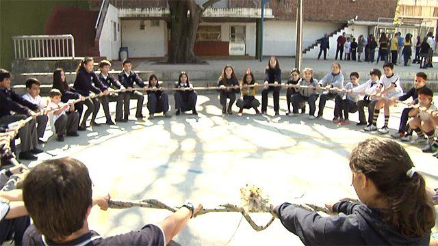 Colegios cristianos, judíos y laicos participan en jornada de integración