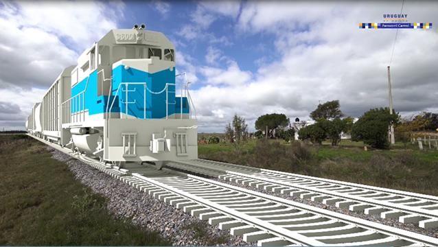 Gobierno presentó a empresarios el trazado del tren para UPM