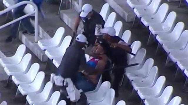 Hinchas tricolores detenidos y 220 butacas rotas en incidentes con Botafogo