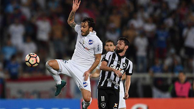 Botafogo sacó a Nacional de la Copa Libertadores al vencerlo 2 a 0