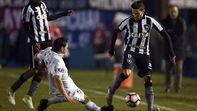 Nacional cayó ante Botafogo y quedó afuera de la Libertadores