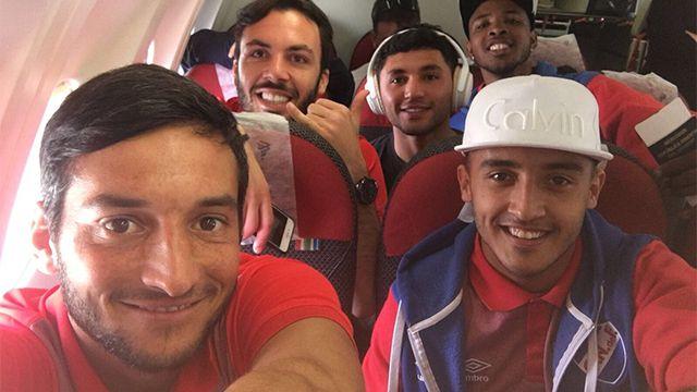 Nacional viajó a Río de Janeiro para enfrentar este jueves a Botafogo