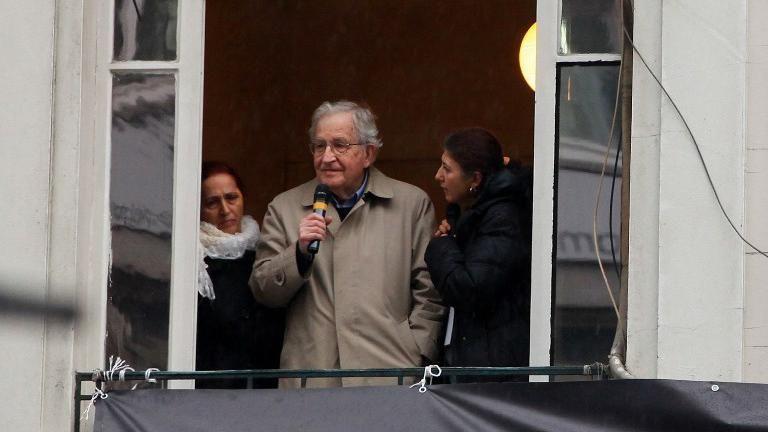 Mujica y Chomsky se reunieron y grabaron para realización de un documental