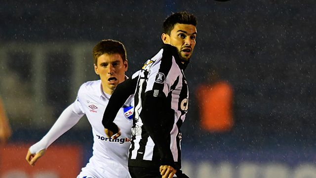 Botafogo derrotó a Nacional como visitante 1-0 por la Copa Libertadores