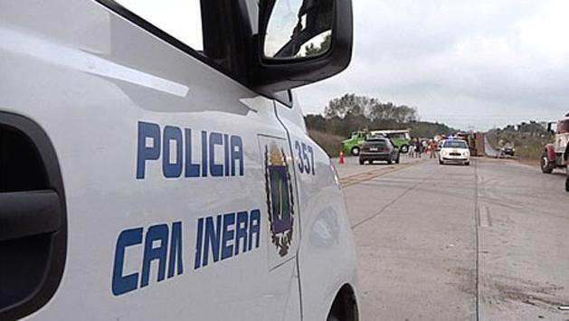 Accidente fatal en Conchillas: conductor despistó y volcó