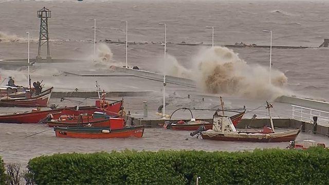 Advierten por fuertes vientos con rachas superiores a los 60 km/h