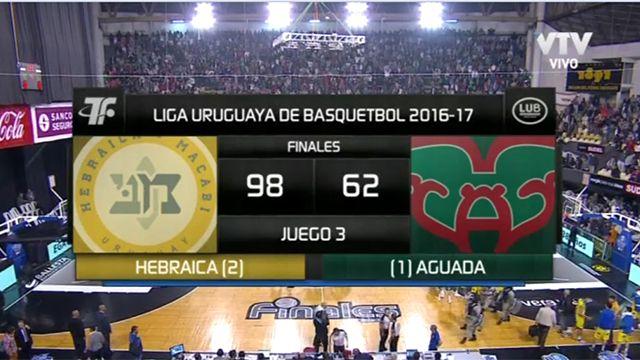 Hebraica arrasó a Aguada y la serie final está 2 a 1 a favor del macabeo