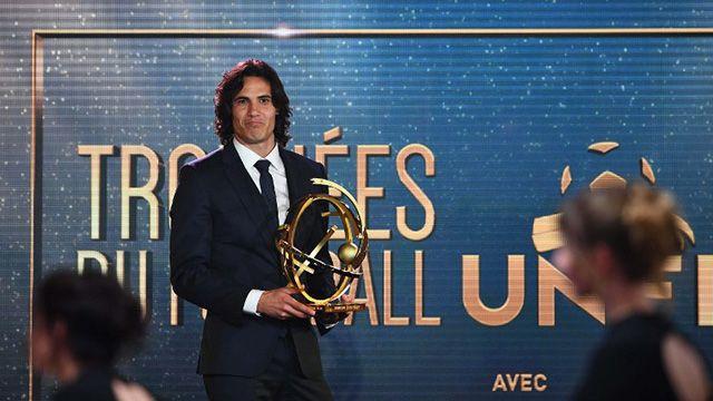 Edinson Cavani es elegido mejor jugador del campeonato francés