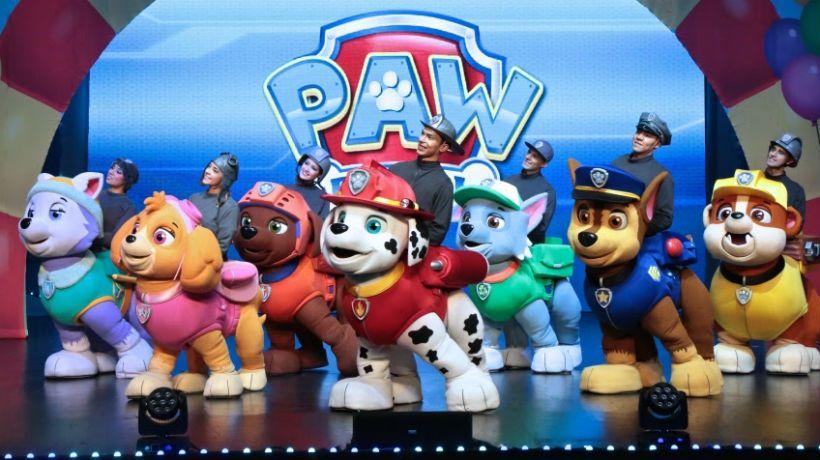 Paw Patrol,Carrera al rescate, en Montevideo