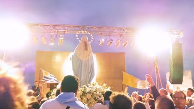 Ediles frenteamplistas le dicen no a la Virgen María de rambla del Buceo
