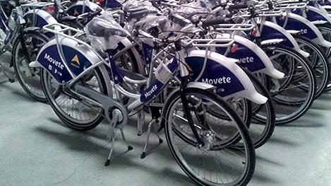 Salen a controlar exigencia de espacio para bicicletas en estacionamientos