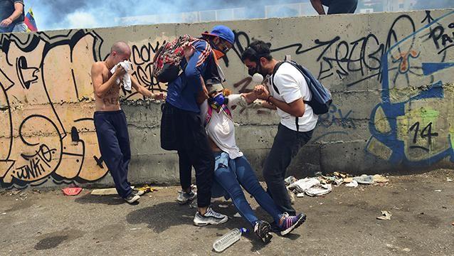 Son dos los fallecidos durante la marcha opositora en Venezuela