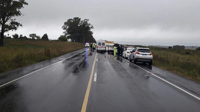 Tres personas fallecidas y tres heridas tras accidente en Tacuarembó