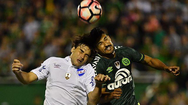 Nacional empató 1-1 en Brasil ante Chapecoense por la Libertadores