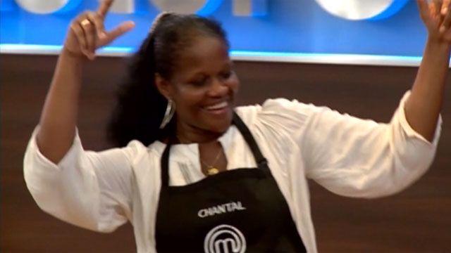 Chantal, fue la primera eliminada de MasterChef y se despidió bailando