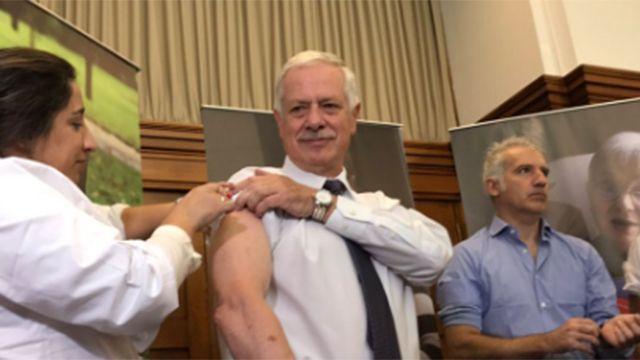 Hoy  comienza la campaña de vacunación contra la gripe