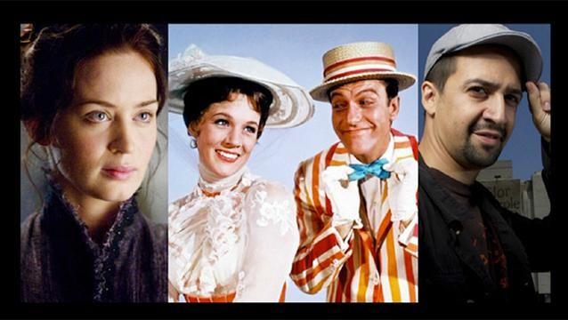 """""""Mary Poppins"""", la gran apuesta de Disney para el 2018"""