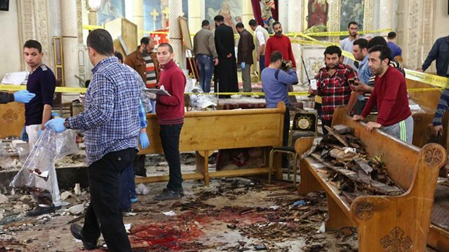Dos atentados contra iglesias dejan al menos 44 muertos y cientos de heridos