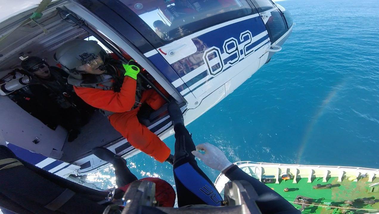 Armada rescata buque pesquero que se encontraba a 250km de Punta del Este