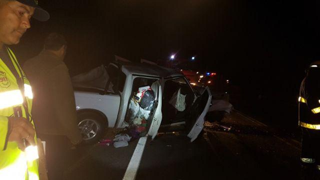 Choque frontal en ruta 9 dejó una joven fallecida y dos heridos graves