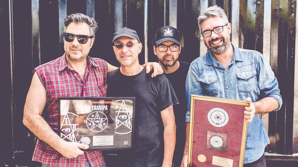 La Trampa regresa hoy a los escenarios con Disco platino
