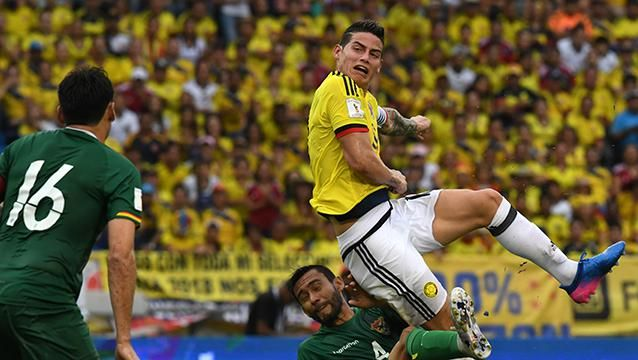 Colombia le ganó 1-0 a Bolivia en Barranquilla y llegó a 21 puntos