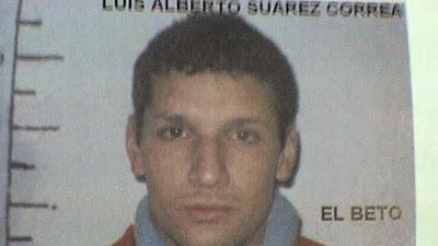El sábado será libre Betito Suárez, el delincuente más peligroso del país