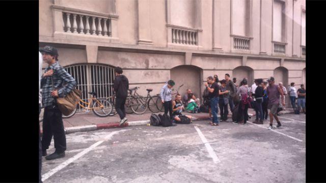 Declaran ante el juez radicales detenidos en incidentes de La Solidaria