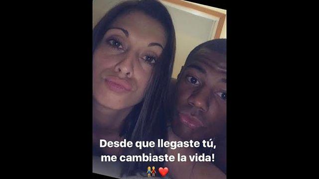 Crack Nico De la Cruz y la cantante Vanesa Britos blanquearon su noviazgo