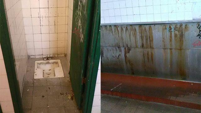 Paro en el liceo Miranda por el mal estado de los baños de los estudiantes